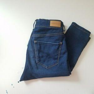 Aero dark skinny high wasted jeans